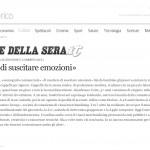 Corriere della sera - Visual merchandising